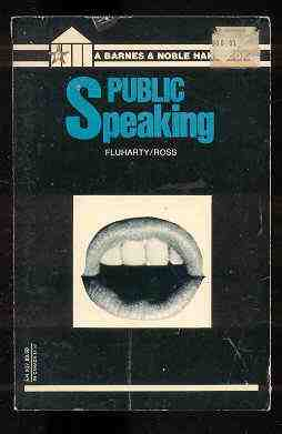 Image for PUBLIC SPEAKING