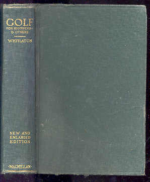 Image for GOLF FOR BEGINNERS- AND OTHERS