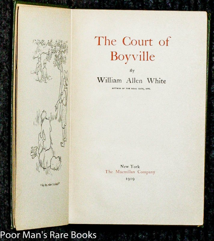 Image for THE COURT OF BOYVILLE, SIGNED 1919 O202